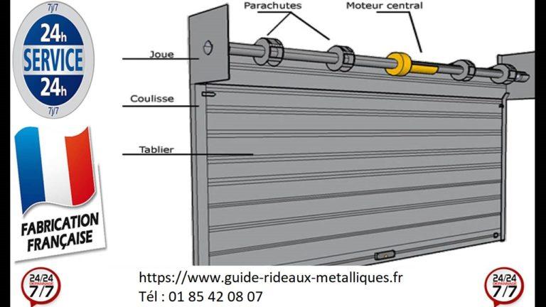maintenance rideau metallique