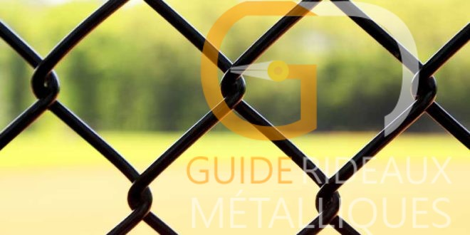 guide rideau metallique